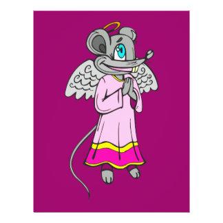 """Ángel del ratón folleto 8.5"""" x 11"""""""