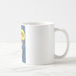Ángel del rezo taza