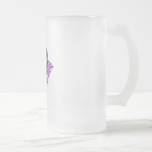 Ángel del vampiro taza cristal mate