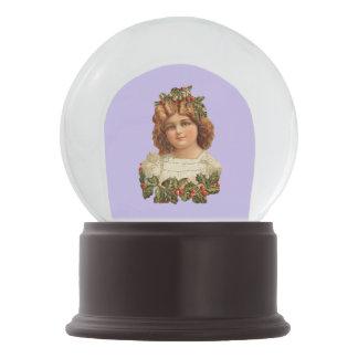 Ángel del Victorian Bola De Nieve