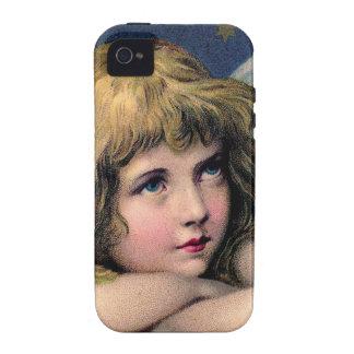 Ángel del vintage vibe iPhone 4 carcasas