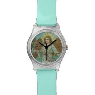 Ángel del vintage relojes de pulsera