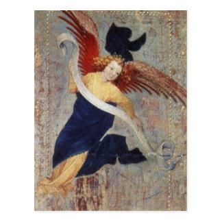 Ángel del Visitation por Broederlam Postales