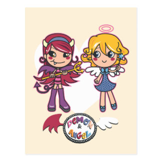 Angel & Demon Postcard