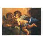 Angel detail, Patron Saints of Modena by Guercino Personalized Invitation