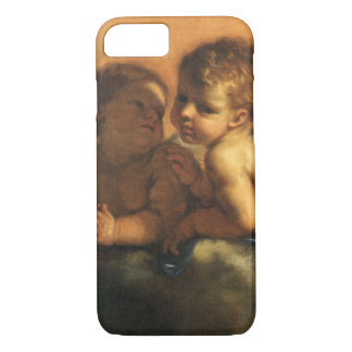 Angel detail, Patron Saints of Modena by Guercino iPhone 7 Case
