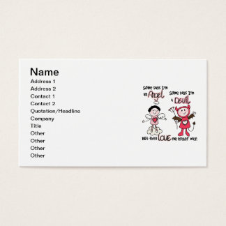 Angel Devil Business Card