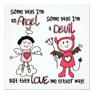 Angel Devil Card