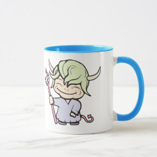 angel-devil!  Customizable! Mug
