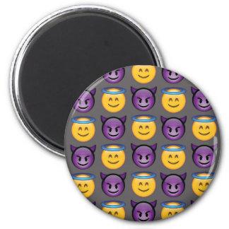 Angel & Devil Emojis Magnet