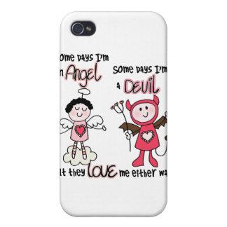 Angel Devil iPhone 4 Cases