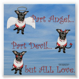 Angel/Devil Print