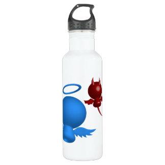 Angel devil water bottle