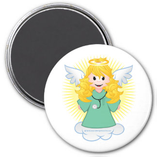 Angel Doctor Scrubs Magnet