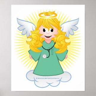 Angel Doctor Scrubs Poster