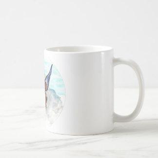 Angel dog coffee mug