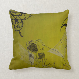 angel dog pillow