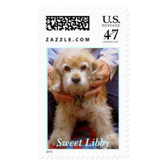 Angel Dog, Sweet Libby Postage