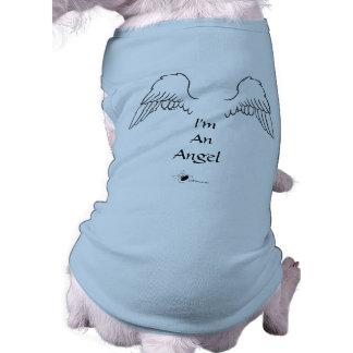 Angel Dog Wings I'm An Angel T-Shirt