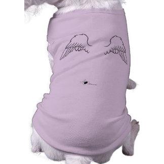 Angel Dog Wings T-Shirt