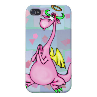 Angel Dragon iPhone 4/4S Cases