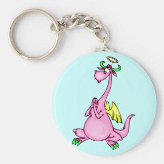 Angel Dragon Keychain