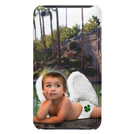 ANGEL DRAMS NATURE  DIVINE BARELY THERE iPod COVER