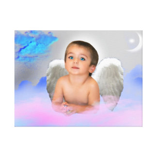 ANGEL DRAMS WHISPERED PRAYER GALLERY WRAP CANVAS