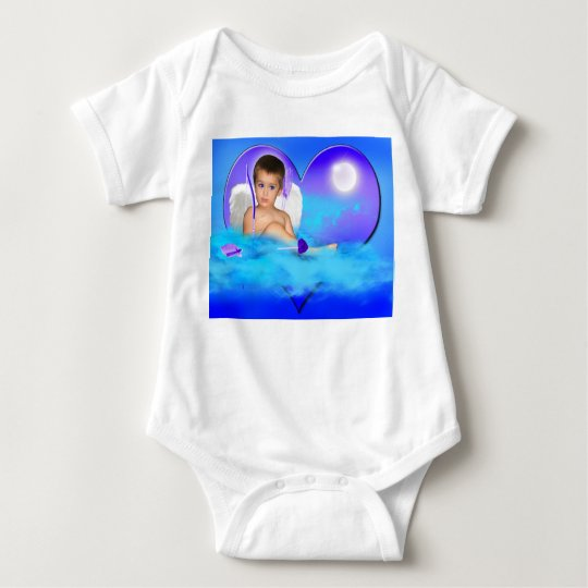 ANGEL DREAMS CUPID  LOVE BABY BODYSUIT