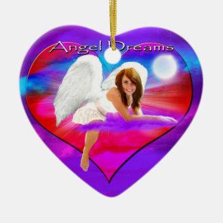 ANGEL DREAMS MESSAGE-OF-LOVE-ORNAMENT CERAMIC ORNAMENT