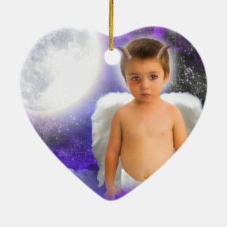 ANGEL-DREAMS NAUGHTY-BUT-NICE-HEART-ORNAMENT ADORNO
