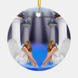 angel dreams -twins tower of strength  ornament