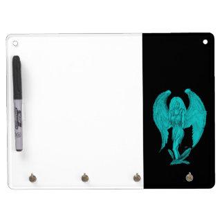 Angel Dry Erase Board With Keychain Holder