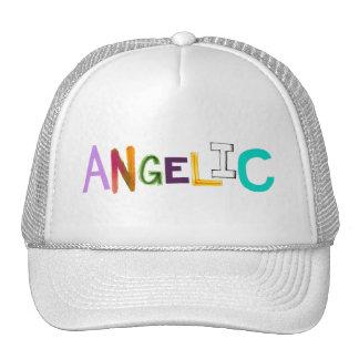 Ángel dulce de la diversión del arte colorido ange gorra