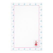 Angel Elf Christmas Holiday Letters Stationery