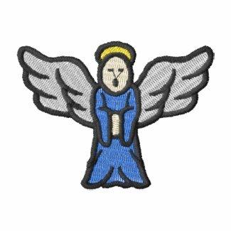 Angel embroideredshirt