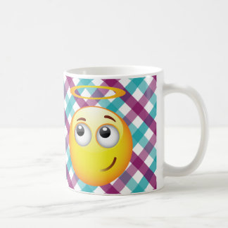 Angel Emoticon Coffee Mug