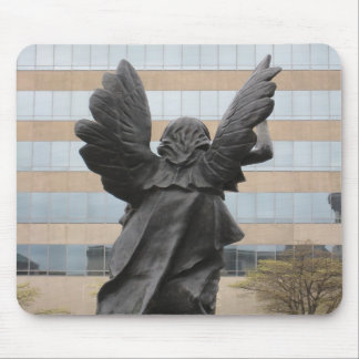Ángel en Asheville Tapetes De Raton