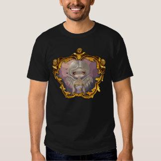 Ángel en camisa de hadas rococó gótica de la lila