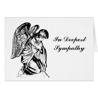 Ángel en cualquier color tarjeta de felicitación