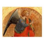 Ángel en el anuncio postales