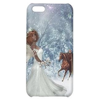 ángel en el caso de la cubierta del iphone 4 de la