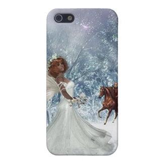 ángel en el caso de la cubierta del iphone 4 de la iPhone 5 fundas
