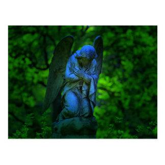 ángel en el cementerio viejo de Lynchburg Virginia Postales