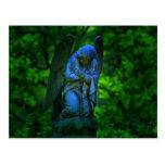 ángel en el cementerio viejo de Lynchburg Virginia Postal