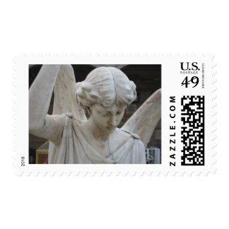 Ángel en el Panteon Timbre Postal