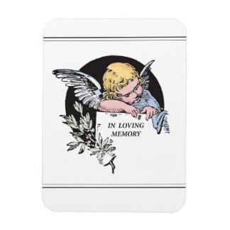 Ángel en la memoria cariñosa, clásica en la imanes