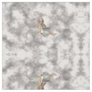 Ángel en las nubes telas
