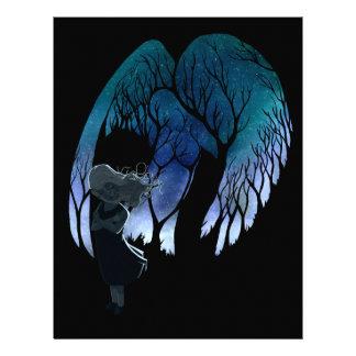 Ángel en mi hombro membretes personalizados