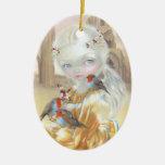 """""""Ángel en ornamento de la abadía de Glastonbury"""" Ornamentos De Reyes"""